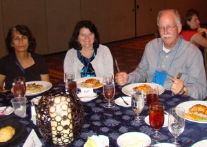 Dr. Maureen Long and other UF research faculty members in Orlando, 2011.