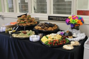 A wonderful spread of food was enjoyed by all!