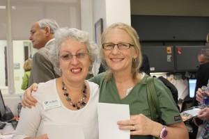 Jo Ann Winn and Dr. Tecla Myrick.