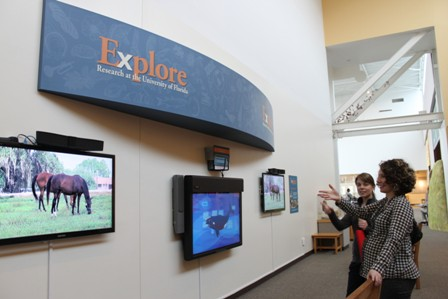 Explore Research exhibit