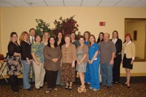2012 Superior Accomplishment Award winners.