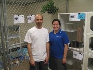 Dr. Brian DiGangi and Patti Dingman