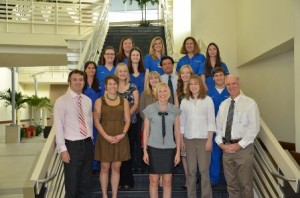 Members of the UF Small Animal Hospital oncology group.