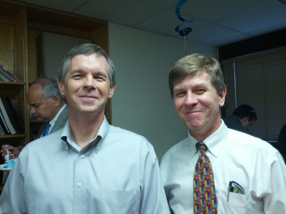 Dr. Tom Vickroy and Dr. Don Bolser