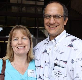 Drs. Lisa and Vincent Centonze.