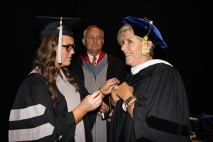 Katie Stender and Suze Orman.