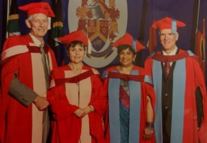 Dr. Rowan Milner receives Ph.D. degree
