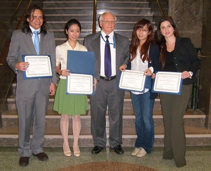 International student award ceremony