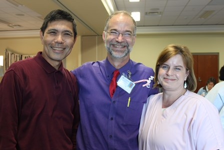 Drs. Pablo and Graham and Amy Beaver