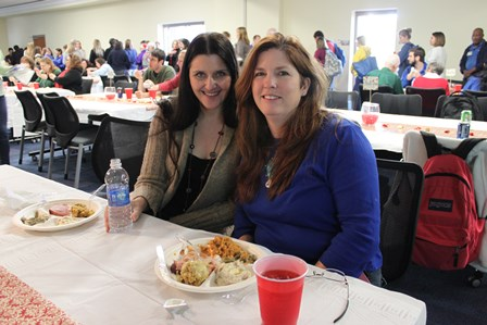 Andrea Rennia and Sheri Holloway.