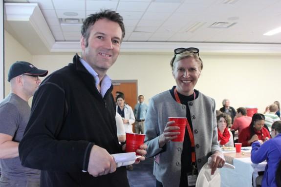 Dr. Nick Bacon and Dr. Sarah Boston