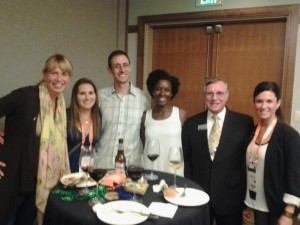 UF CVM alums and Dr. Burrorws