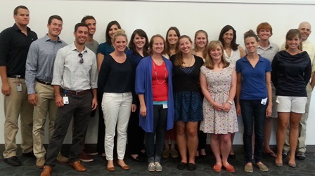 2014 UF Merial Scholars at Cornell.