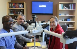 Dr. Marsella, Dr. Vincek and colleague