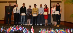 International graduate students 2014