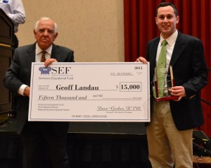 Geoff Landau Simmons Award2015