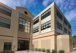 Rendering of new clinical skills laboratory