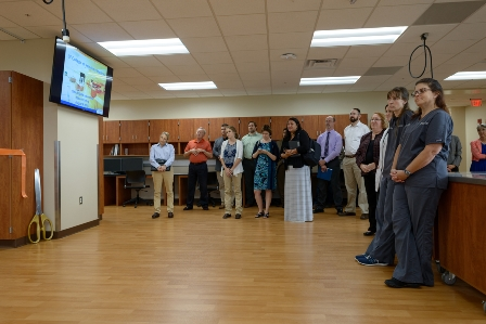 Ribbon cutting for UF Veterinary Clinical Skills Laboratory
