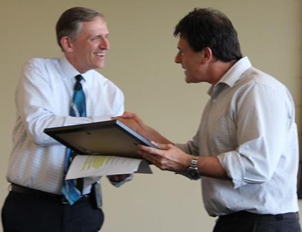 Dean Lloyd and Ignacio Aguirre