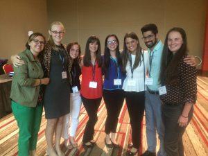 Attendees summer Veterinary Scholars Program symposium attendees